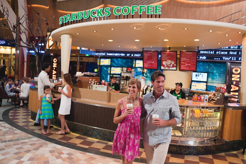 The One Where Starbucks Opened On Oasis Of The Seas The Travel Review