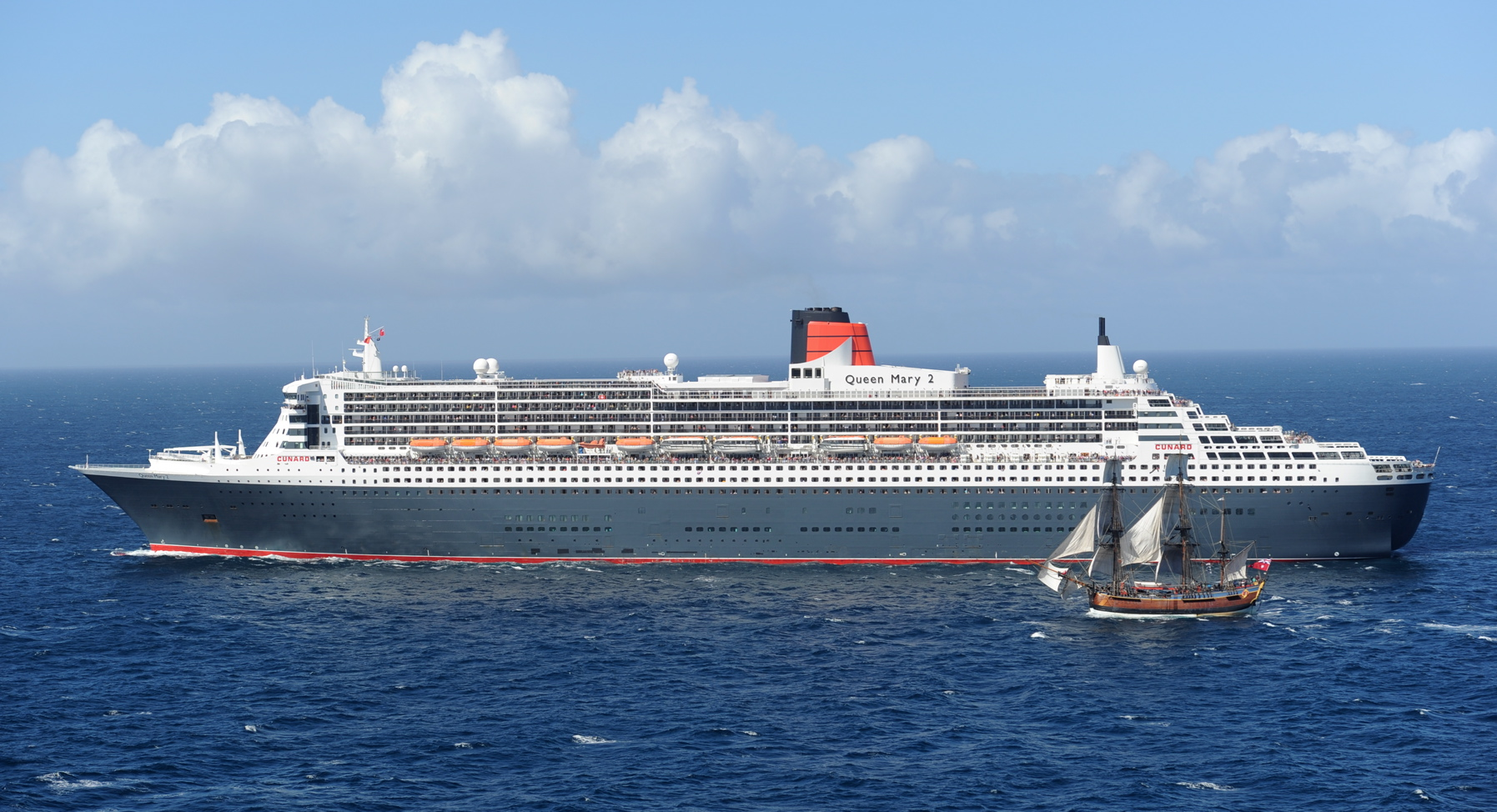 The One Where Qm2 Crossed Paths With Endeavour The