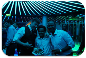 DJ Alx celebrates his birthday at Liquid Nightclub