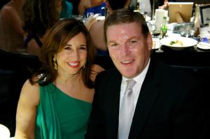 CLIA president and CEO Christine Duffy and ICCA chairman Gavin Smith at the 2012 Cruise Industry Awards. Image: Natalie Aroyan