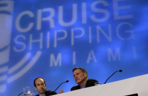 Carnival CEO Gerry Cahill at Cruise Shipping Miami.Image: beaumontenterprise.com