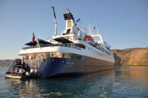 Orion in The Kimberley.Image: Orion Expedition Cruises