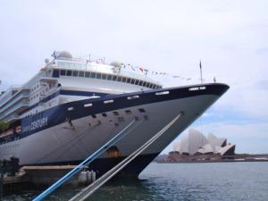 Celebrity Century returns to Sydney in 2014. Photo Credit: Natalie Aroyan