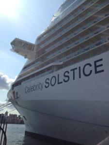 Celebrity Solstice on her final day in Sydney for her inaugural Australian season. Photo Credit: Natalie Aroyan.