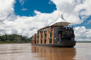 16-suite ship Aria will take passengers into the Amazon in 2014. Photo Credit: Avalon Waterways