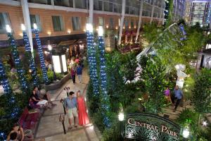 Central Park heads to Europe aboard Oasis of the Seas. Photo: Royal Caribbean International