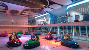 Dodgem cars at sea? Yes please! Photo Credit: Royal Caribbean