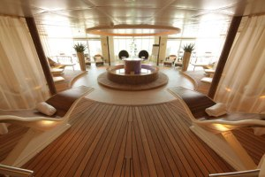 The Spa at Seabourn aboard Seabourn Sojourn. Photo Credit: Seabourn