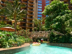 View from the lazy river. Photo Credit: Natalie Aroyan