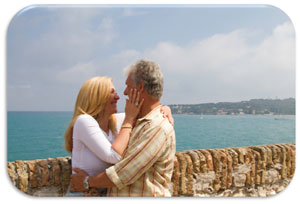Edie and Tom in Nice