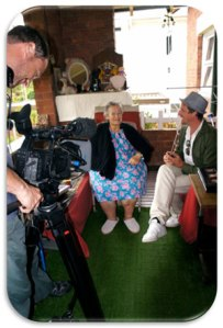 Interviewing Ricca Edirnelian in Sydney about her experiences migrating from Egypt to Australia