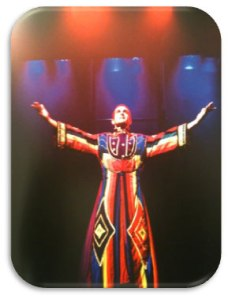 """Joseph and the Amazing Technicolour Dreamcoat"""
