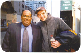 "Hanging out with the ""Today Show's"" Al Roker"