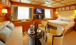 Wind Star Suite. Photo Credit: Windstar Cruises