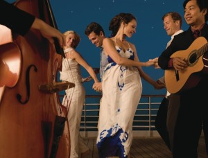 Music and Dancing on Deck. Photo Credit: Seabourn