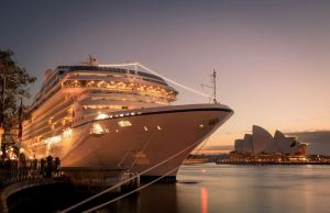 Oceania Marina by the Sydney Opera House. Photo Credit: Graham Jepson/Oceania Cruises