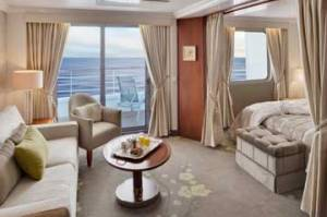 Penthouse Suite.  Photo Credit: Crystal Cruises