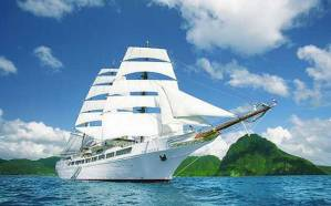 Sea Cloud II. Photo Credit: Sea Cloud Cruises