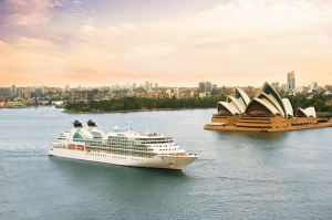 Seabourn Odyssey in Sydney Harbor. Photo Credit: Seabourn