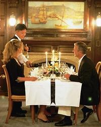 The Restaurant aboard Sea Cloud. Photo Credit: Sea Cloud Cruises