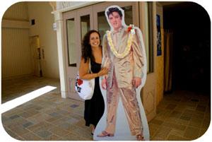 Elvis spotting!