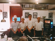 The talented chefs at The Colonial